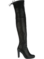 Stuart Weitzman Thigh High Boots Black