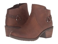 Teva Foxy Leather Brown Women's Shoes