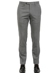 Tombolini 18.5Cm Stretch Wool Pants Grey