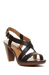 Clarks Jaelyn Fog Platform Sandal Wide Width Available Black