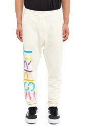 Esprit By Opening Ceremony Logo Sweatpants White