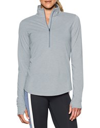 Under Armour Stand Collar Long Sleeve Jacket Grey