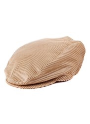 Dents Cotton Flat Cap Camel