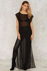 Nasty Gal Beading Is Believing Maxi Shirt 75132