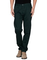 Shaft Trousers Casual Trousers Men Green