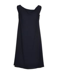 Gio' Moretti Short Dresses Dark Blue