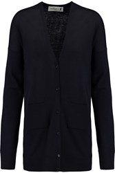 Pringle Merino Wool Cardigan Blue