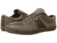 Simple Waveoff Brown Soft Leather Men's Shoes