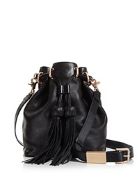 Foley Corinna And Sasha Drawstring Crossbody Bucket Bag Compare At 348 Black