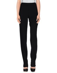 Armani Collezioni Trousers Casual Trousers Women Black