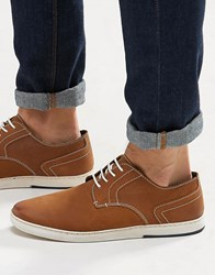 Dune Derby Shoes In Tan Tan