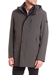 Tumi Tech Stretch Soft Shell Jacket Dark Moss