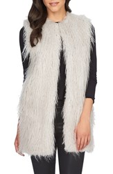 Women's 1.State Faux Fur Long Vest