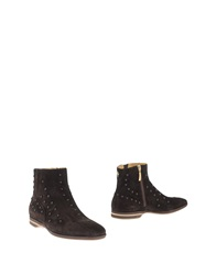 Cesare Paciotti Ankle Boots Dark Brown
