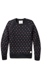 Native Youth Allover Geo Print Pullover