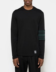 Raf Simons Longsleeve T Shirt In Black