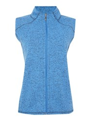 Tigi Fleece Gilet Azure