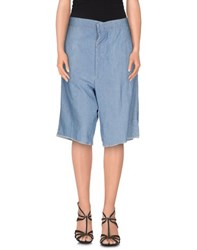 People Denim Denim Bermudas Women