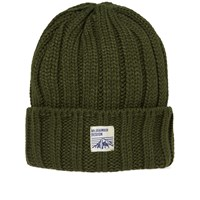 Mt. Rainier Design Knit Beanie Green