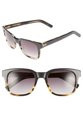 Jack Spade 'Chambers' 52Mm Sunglasses Gray Striated Blonde