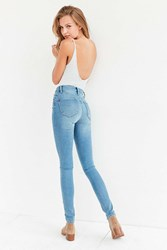 Bdg Twig High Rise Skinny Jean Light Blue