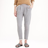 J.Crew Demyleetm Bobby Pleated Fleece Pant