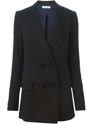 Nina Ricci Double Breasted Blazer Black