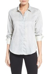 Foxcroft Women's Print Sateen Shirt
