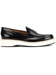 Derek Lam Platform Sole Loafers Black