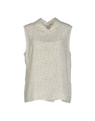 Equipment Femme Topwear Tops Women White