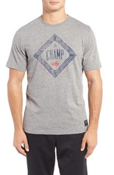 Under Armour Men's 'Clay The Champ' Graphic Crewneck T Shirt Greyhound Heather