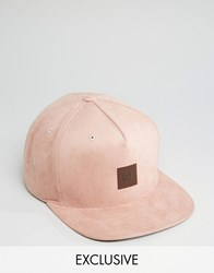 Mitchell And Ness Snapback Cap Exclusive To Asos Pink