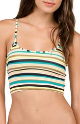 Volcom Women's Salty Air Crop Bikini Top