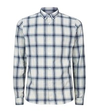A.P.C. Apc Checked Shirt Male Ivory