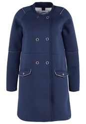 Bellfield Orveto Short Coat Navy Dark Blue