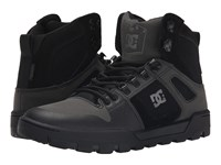 Dc Spartan High Wr Boot Black Black Grey Men's Boots