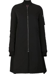 Rick Owens Drkshdw 'Vicious Flight' Long Jacket Black