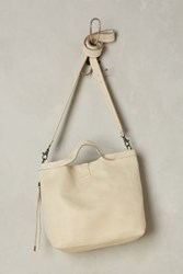 Anthropologie Mini Shopping Crossbody White