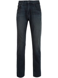 Paige Slim Fit Jeans Black