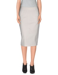 10 Crosby Derek Lam Knee Length Skirts White