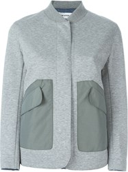 Tim Coppens 'Snap Field' Pocket Detail Military Jacket Grey