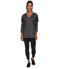 Lole Mason Long Sleeve Tunic Black Women's Long Sleeve Pullover