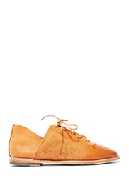 Petrucha Studio Petrucha Waxed Leather Lace Up Shoes
