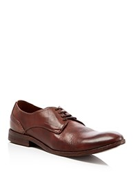 H By Hudson Dylan Derby Shoes Tan