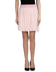 Twenty Easy By Kaos Mini Skirts Light Pink