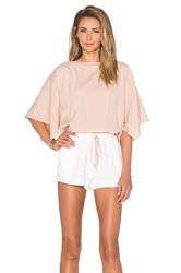 Ramy Brook Roy Romper Blush