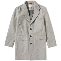 Nanamica Windstopper Chesterfield Coat Grey