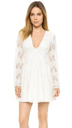 Style Stalker Empire Long Sleeve Dress Ivory