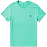 Polo Ralph Lauren Custom Fit Crew Tee Green