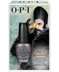 Opi Special Edition Alice Through The Looking Glass What Time Isn't It Nail Lacquer